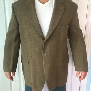 Men's patterned blazer